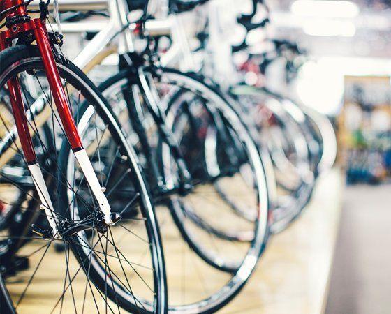 Custom built bicycles