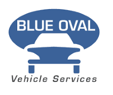Blue Oval Vehicle