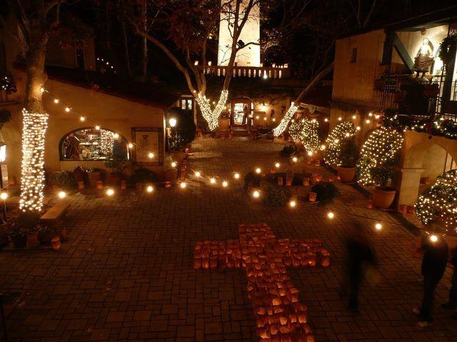 Patio de las Campanas - Festival of Lights - FESTIVAL OF LIGHTS AT TLAQUEPAQUE