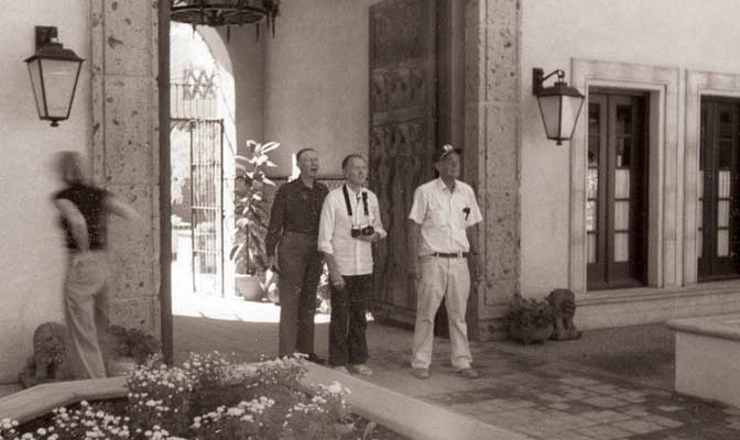 founder abe miller looks out at early tlaquepaque