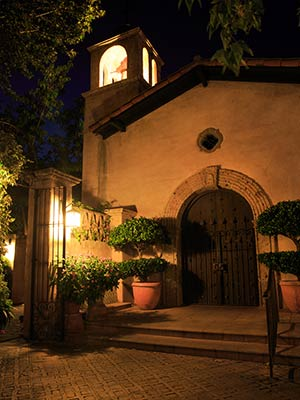 Tlaquepaque Chapel at Night