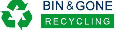 BIN & GONE RECYCLING logo