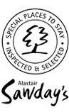 sawday's special places to stay guide label image
