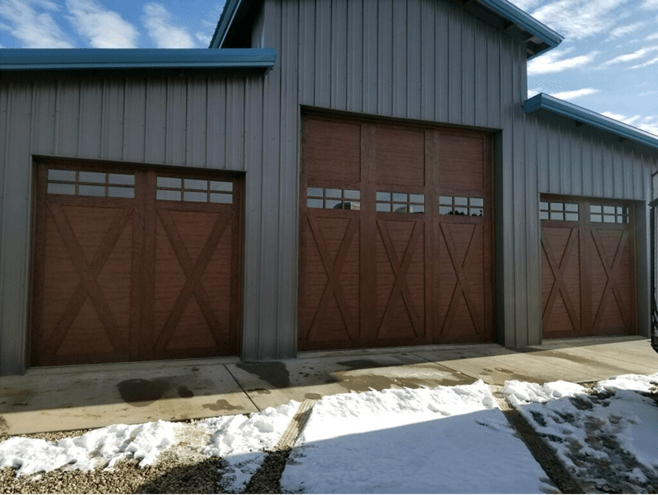 Beautiful Custom Garage Doors Durango Co Adam S