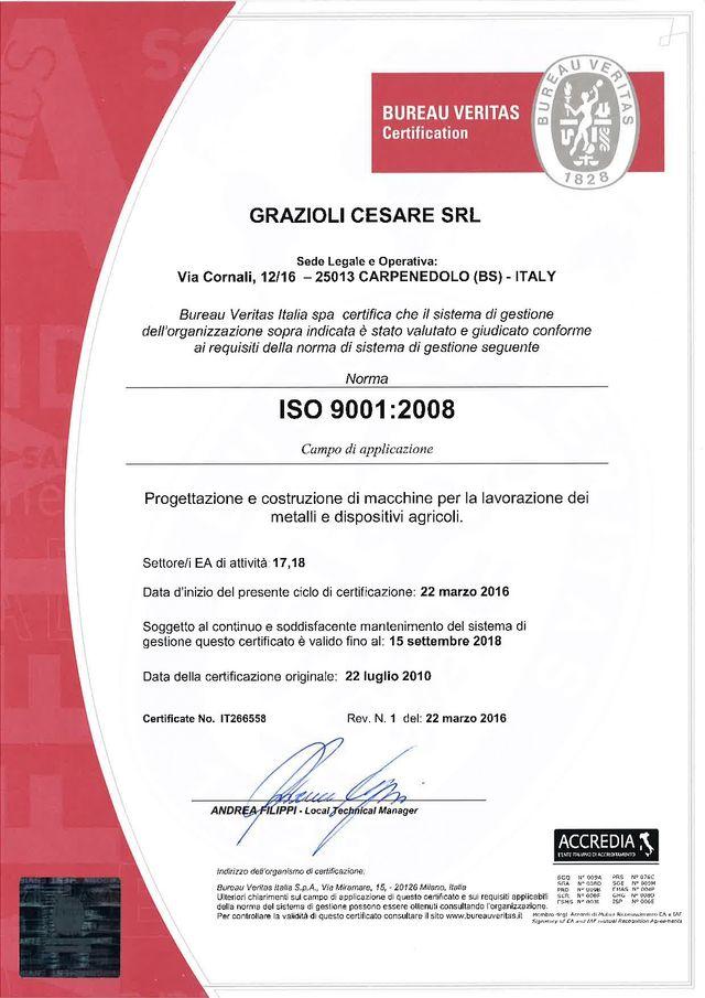 certificazioni, qualità