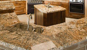 Countertops U2014 Kitchen Room With Countertop In Madera, CA
