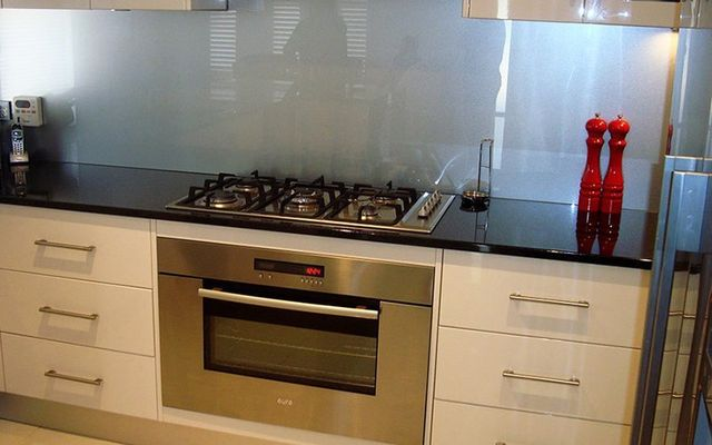 kitchen stoves and oven