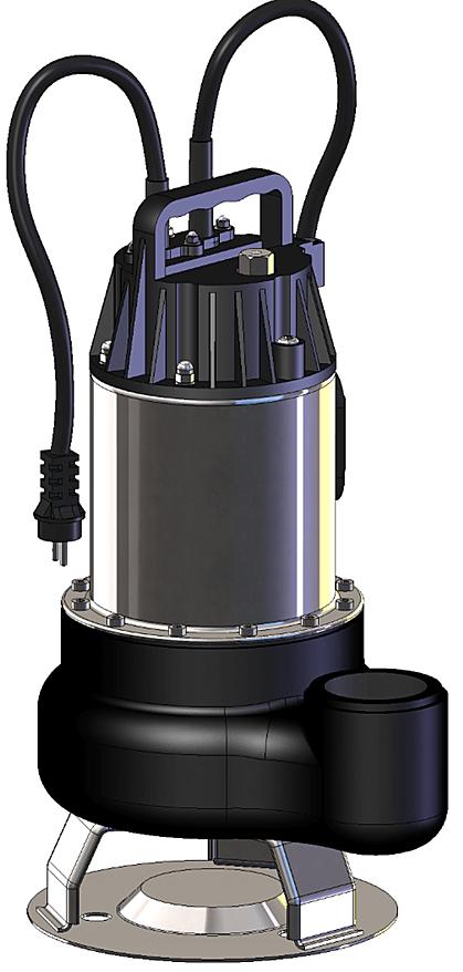 Elettropompa sommergibili, realizzata in acciaio inox e ghisa
