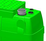 elettropompa verde