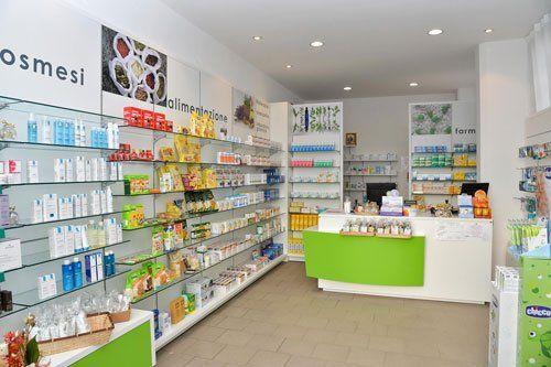 interno della farmacia galenica