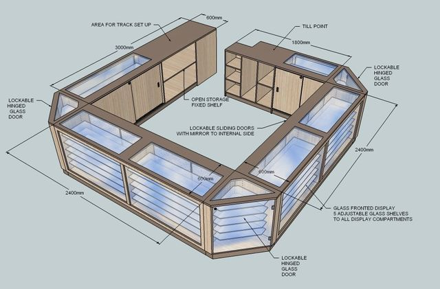 CAD Design Counter Visual