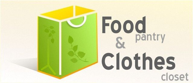 Clothes Closet And Food