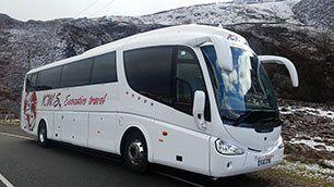 luxury travel bus