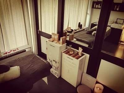 Cabina privata per massaggi