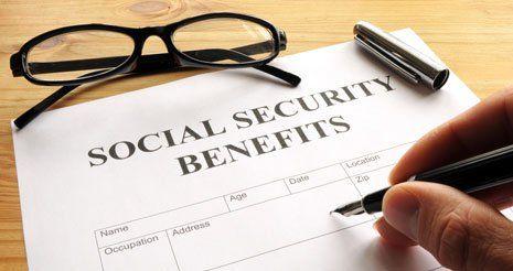 Social security benefits