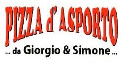 PIZZA DA ASPORTO DA GIORGIO E SIMONE - LOGO