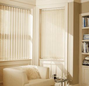 Vertical blinds installation