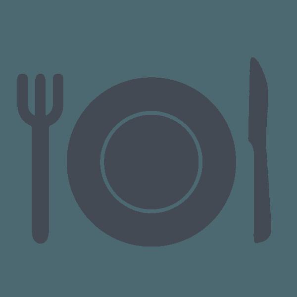 Icona piatto ristorante