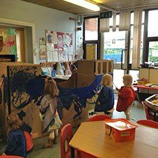 Colourful and enriching nursery activities