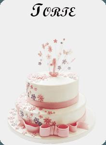 Una torta da cerimonia con fondant