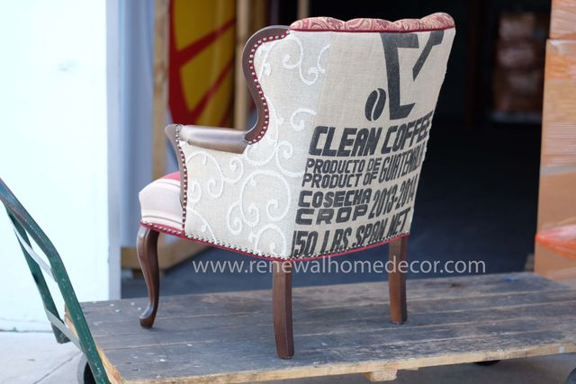 Beautiful French club chair