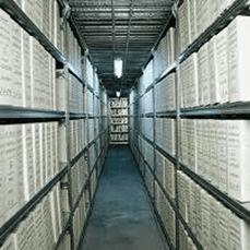 Deposito archivi cartacei