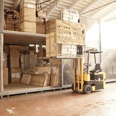 trasloco con servizio di magazzinaggio