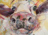 'Yellow Cow' by Bev Horsley