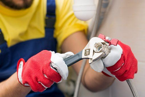 Worker conducting plumbing services in Campbelltown