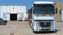 Camion di carico eccezionale