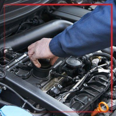 car engine servicing
