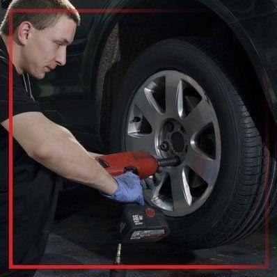 car wheel fitting