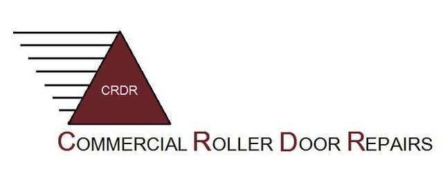 Commercial roller door rpairs main business logo
