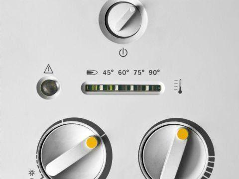 Pannello di controllo della caldaia