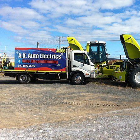 A.K Auto Electrics Truck