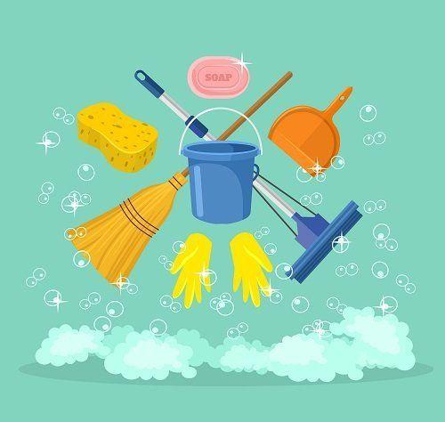 attrezzatura per la pulizia