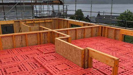 Affordable safety decking systems in Glasgow, Scotland