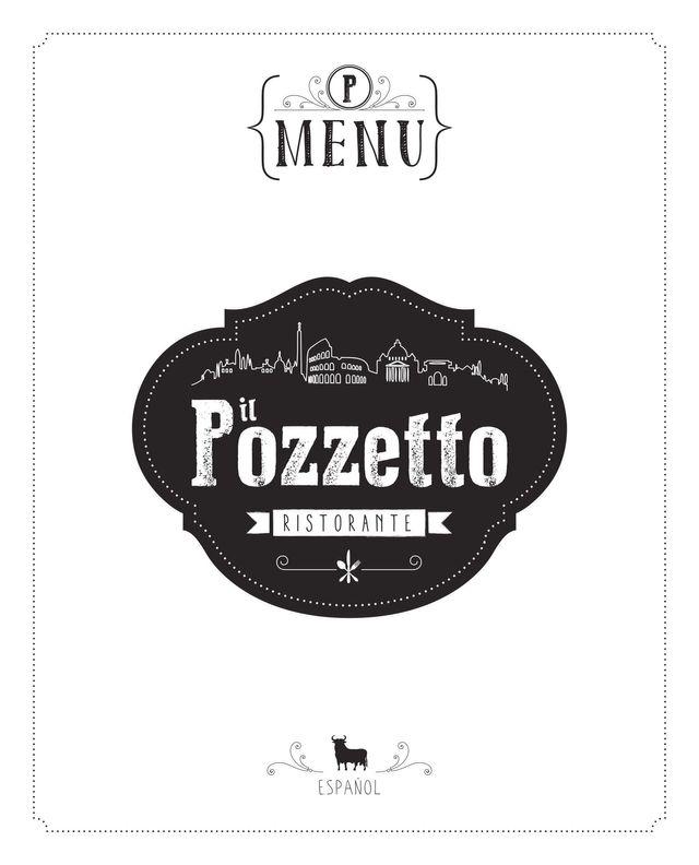 Copertina del menu Spagnolo