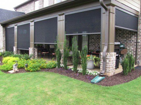 Why Get A Motorized Patio Shade?