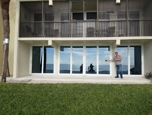 Home With New Windows And A Man In The Front U2014 Windows In Bradenton, FL
