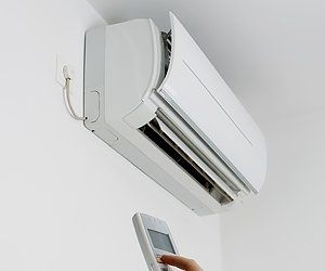 range of heat pumps and air conditioners installed
