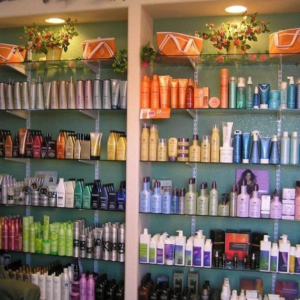 Our variety of hair care products we sell in Kenai
