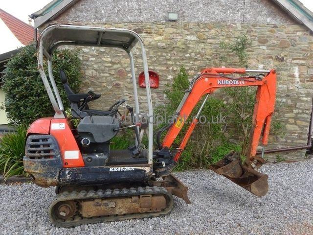 Used Kubota Mini Diggers for sale in Bristol & Bath