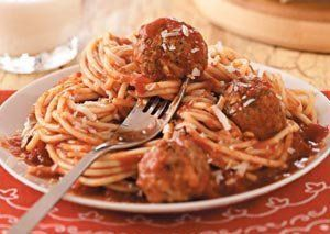 Mouthwatering Spaghetti & Meatballs