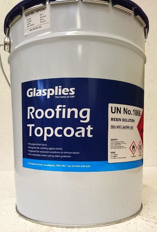 Roof resin supplies