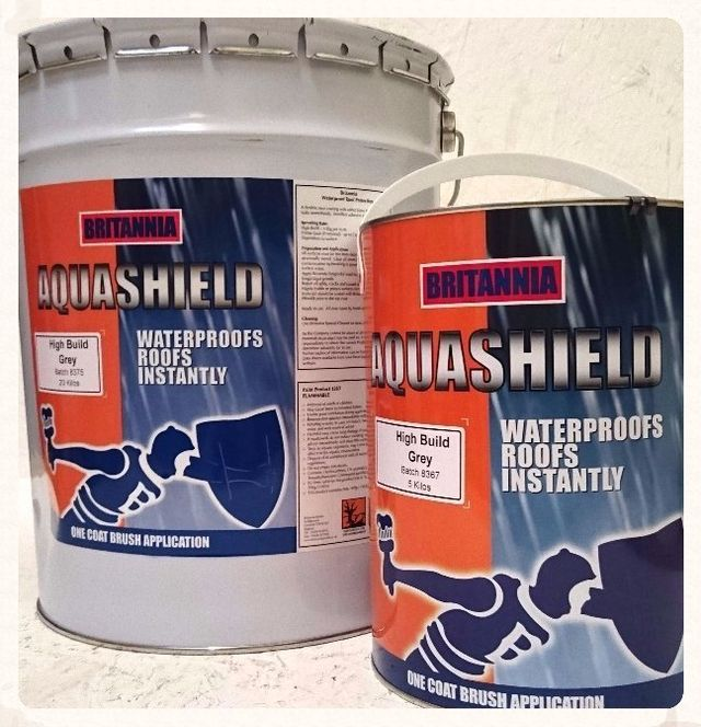 Aquashield weather proofing compound