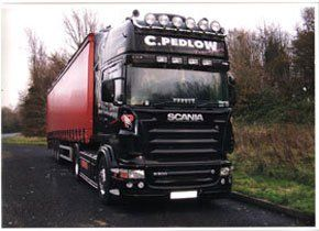 Freight - London | Pedlow Transport Ltd