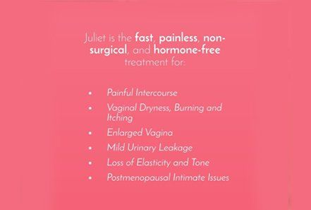 Vaginal Rejuvenation Laser Juliet Treatments In Lutz Fl