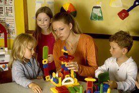 Children being taught