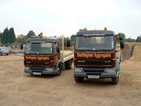 aggregate suppliers - Bishop's Stortford, Hertfordshire - Darlington Aggregates Ltd  - home
